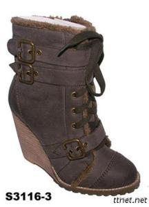 Adventure/Fashion Lady Boot/Wedge Boot