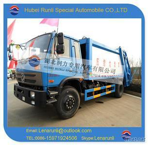 Dongfeng 4x2 Compactor Garbage Truck