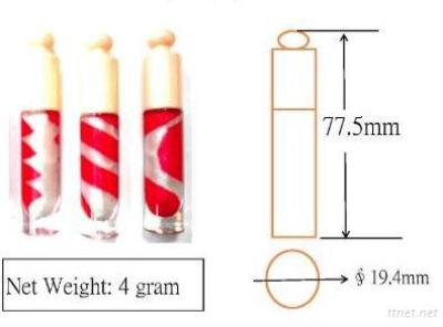 BL-2S 2-3 Colors Mix New Style Lip Gloss