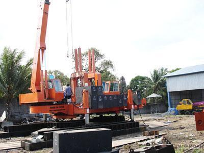 Multi-Functional Hydraulic Static Pile Driver
