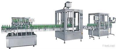 Auto Bottle-Washing/Filling/Capping Production Line
