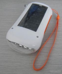 SolarCharger Torch, Mobile Solar Charger Torch