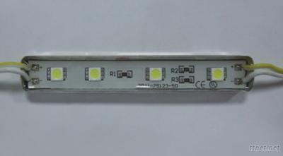 Metal shell 4 LEDs 3528 SMD Linear module