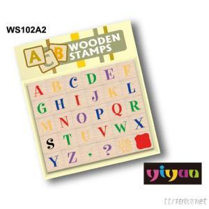 WS102A2 Wooden Stamps