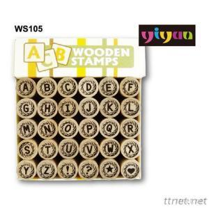 WS105 Wooden Stamps