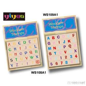 WS108A1, WS109A1 Wooden Stamps