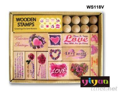 WS118V Wooden Stamps