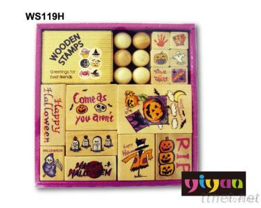 WS119H Wooden Stamps