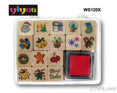 WS120X Wooden Stamps