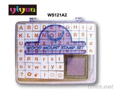 WS121A2 Wooden Stamps