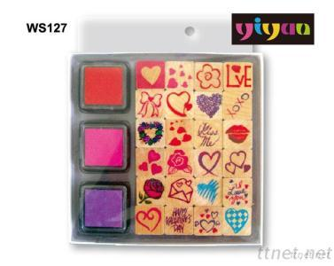 WS127 Wooden Stamps