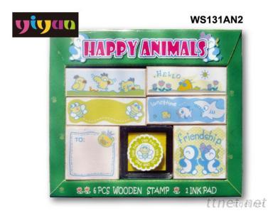 WS131AN2 Wooden Stamps