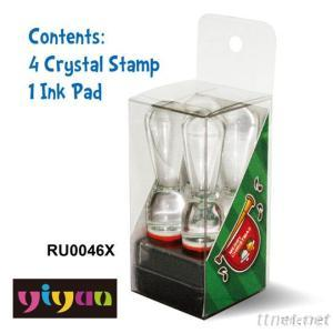 RU0046X Crystal Stamp
