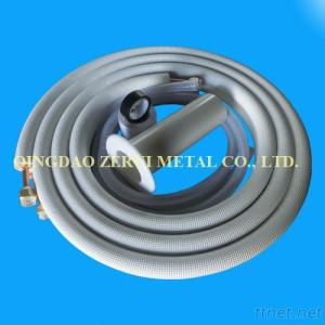 Insulated Air Conditioner Copper Pipe With Accessories