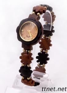 Lady'S Fashion Wooden Bracelet Watches