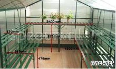Greenhouse Staging  68.50/37(W)*120(L)*97.5(H)cm