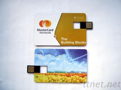 OEM Customized Design Plastic Credit Card USB Popular Bussiness Gifts