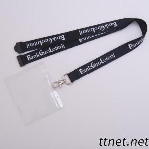 Neck Lanyard With PVC Card Holder