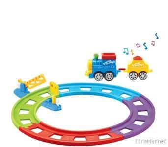 Battery Operated Railway Train Tith Music