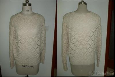 Cable Knit Round Neck Sweater