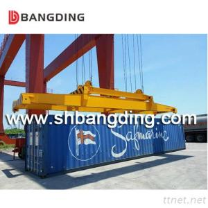 Semi-Automatic Container Spreader Used for Unloading