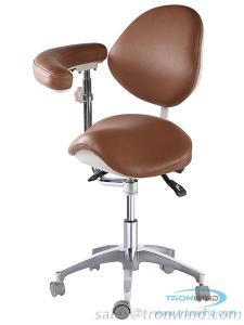 Saddle Chair TS08, Ergonomic Chair, Saddle with Armrest, Ophthalmic Chair
