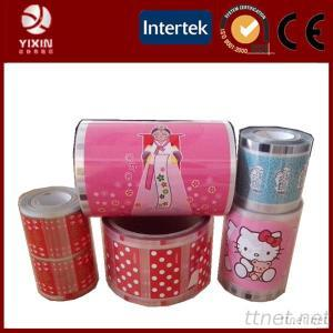 Custom Size And Pattern Heat Transfer Film For PVC, EVA, PE, PS, PET, ABS, AS, PP