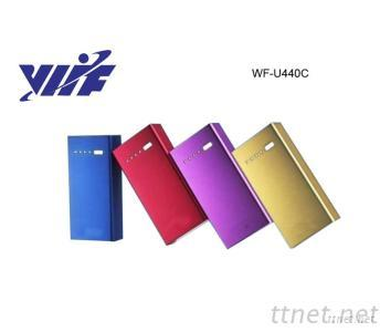 Colorful 4400Mah Multiple Phone Battery Charger - Metal Case With 18650 Li-Ion Battery Power Bank