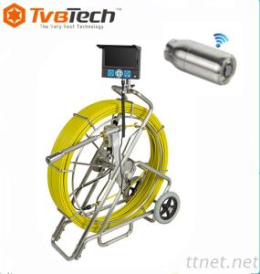 Large Pipe Line Inspection Camera System