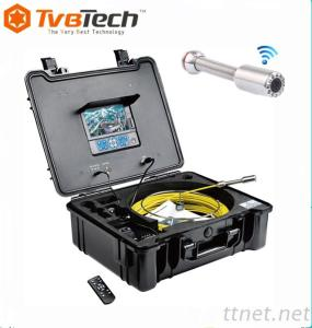 Professional Pipe Inspection Camera System, Duct Inspeppction Camera, Pipeline Inspection Cmaera With Meter Counter And DVR