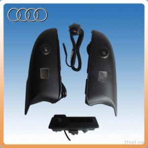 RGB Trunk Handle Camera Built-In Decoder And Ipas For Audi A4L 2013 (Navigation Is Optional)