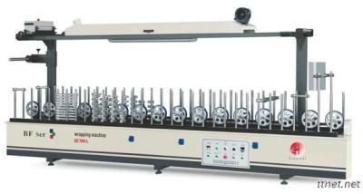 BF300A Profile Wrapping Machine(Scraping coating type)