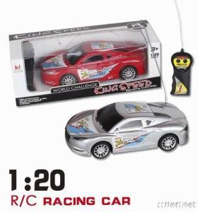 SCALE 1/20 Remote Control Racing Car, Two Channel R/C Car Model