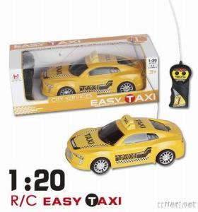 SCALE 1/20 Remote Control Taxi, Two Channel R/C Car Model