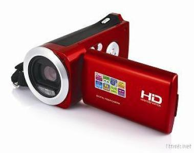 HD 720P Digital Video Camera With 3MP CMOS Sensor And Li-Ion Battery