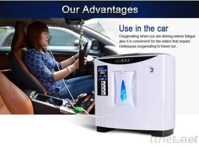 Large Flow Large LED Display Convenient For The Old Car Use Portable Oxygen Concentrator