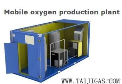 Mobile Oxygen Production Plant