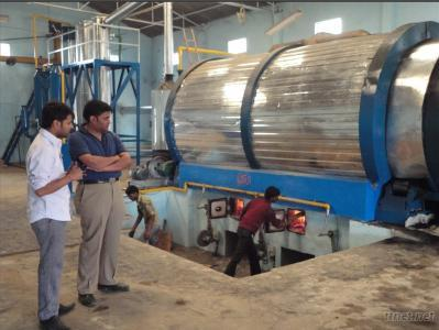 Oil Extraction Plant Using Waste Tyre/Tires