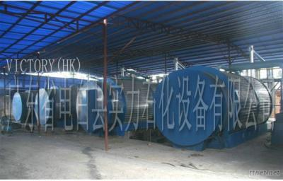Oil Extraction Machine Using Waste Tyre/Tires