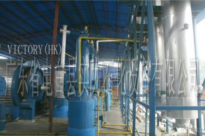 Oil Extracting Plant Using Waste Tyre/Tires