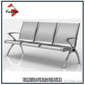 Stainless Steel Waiting Chair For Airport Hospital, Station And Bank