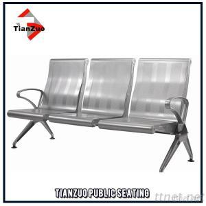 Aluminum Alloy And Steel Gang Chair, Tandem Seating