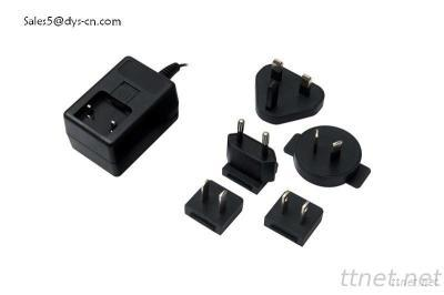 Slim 18W Max Universal AC DC Adapter With FCC, CE, GS, KC