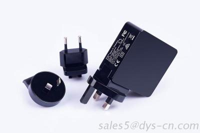 45W Max Type C Power Adapter With PD, UL, FCC, GS, CE, SAA, RCM