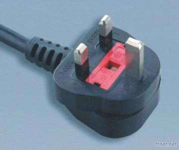 British UK BSI 1363A Power Cord Plug - Y006A