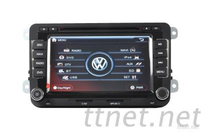 Original VW Golf/EOS/Tiguan/Touran/CC/Jetta Autoradio 2Din Car Dvd Stereo Gps, Somicar VW-007
