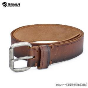 Mens Dyed Leather Belt