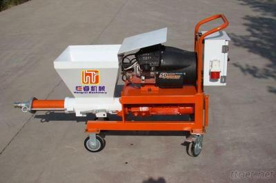 Sand Mortar Spraying Machine