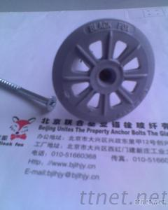 Expansion Insulation Nail, Plastic Insulation Fasterner