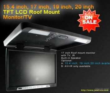 19 Inch Roof Mount Car Monitor With Sd,Usb